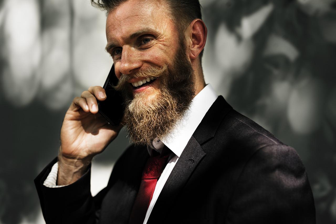 Dicas de Estilo de Barba para Rosto Redondo: Ducktail