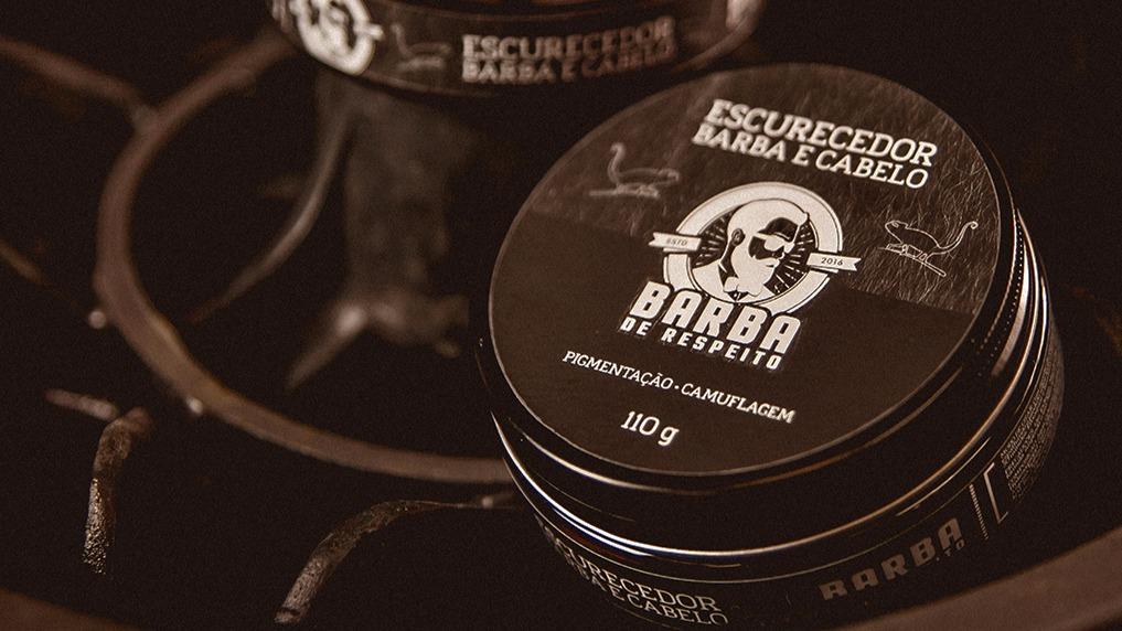Como pintar a barba: escurecedor de barba
