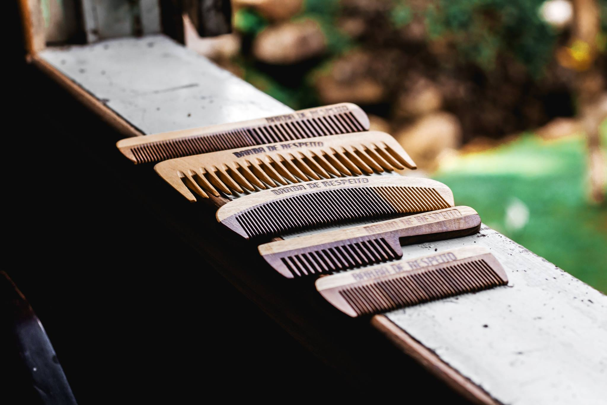 Como Presentear um Homem com Estilo Barbudo: pente para barba