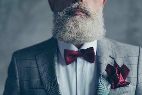 Barba lenhador fica bem em qualquer idade