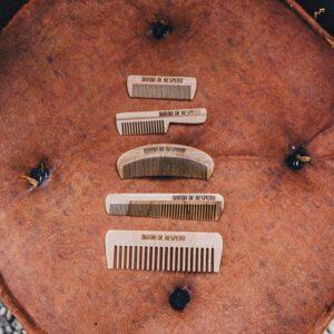 Kit para a barba: Pente de madeira