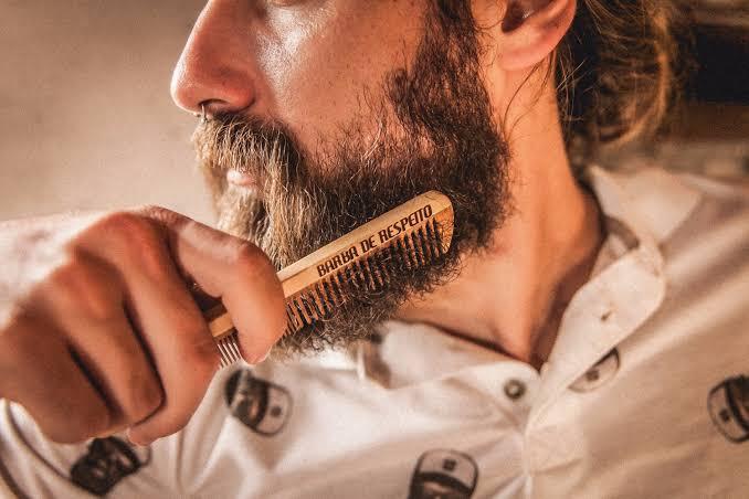 coceira na barba