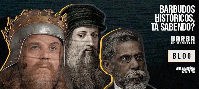 barbudos da história