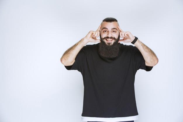 Um segredo para uma barba volumosa